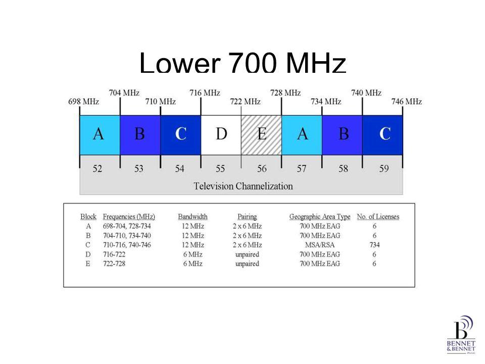 Lower 700 MHz