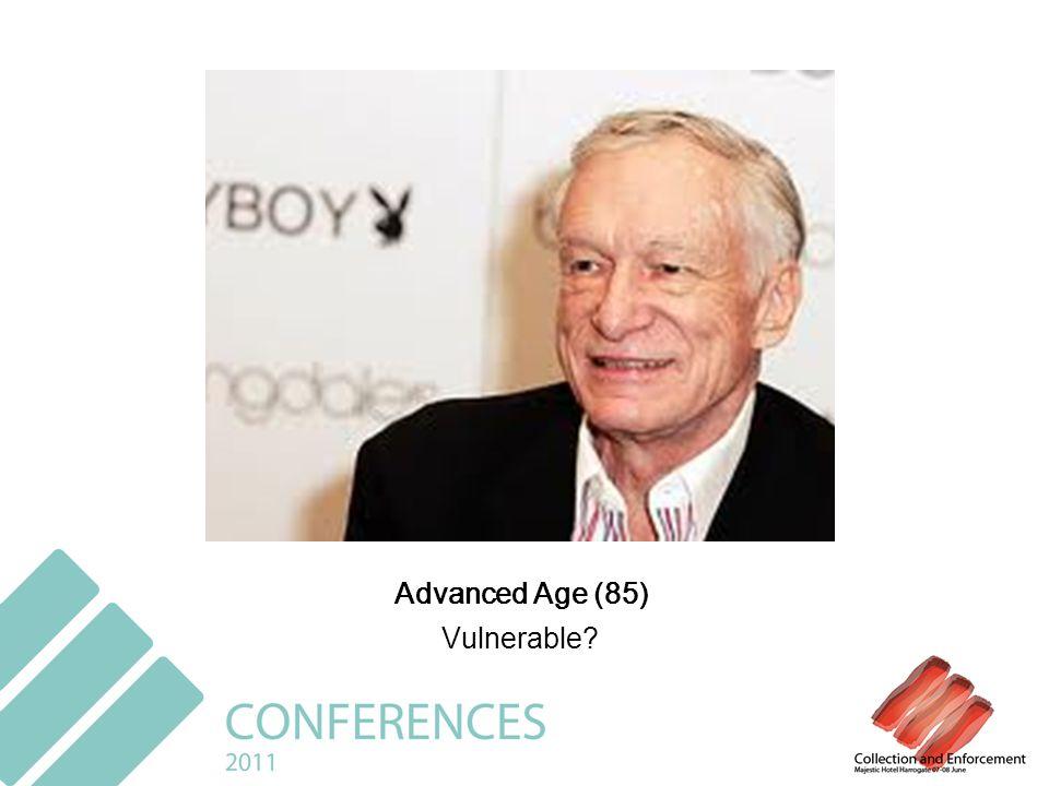 Advanced Age (85) Vulnerable?
