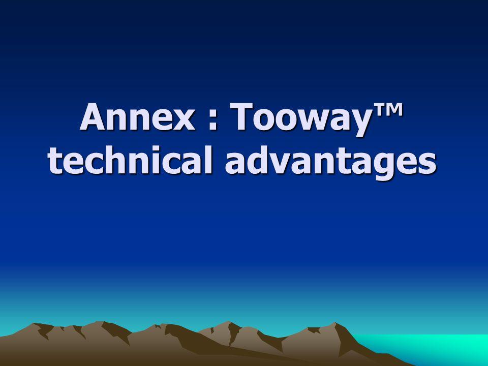 Annex : Tooway technical advantages