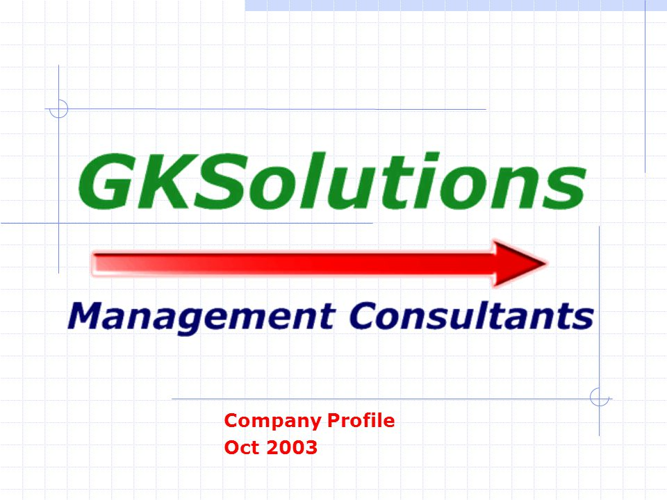 Company Profile Oct 2003
