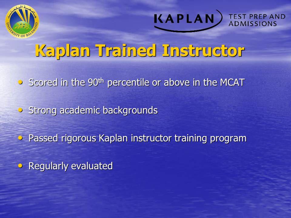 Ghayth Hammoud (ghayth_h89@hotmail.com ) ghayth_h89@hotmail.com After taking this course, I am well prepared to take the MCAT.