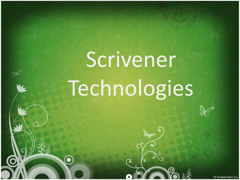 Scrivener Technologies