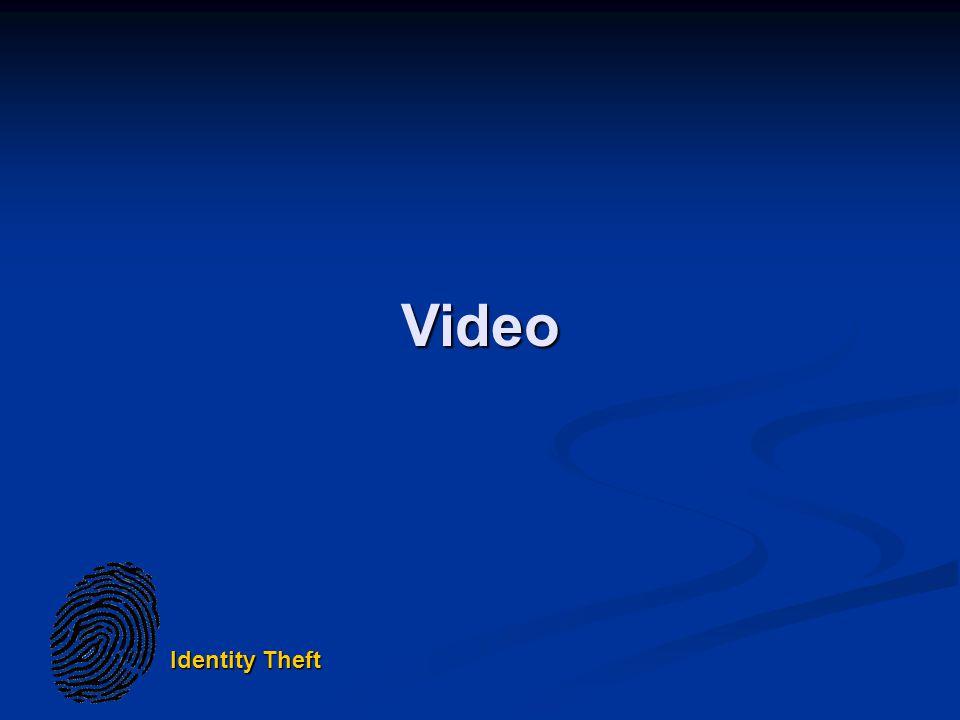 Identity Theft Video