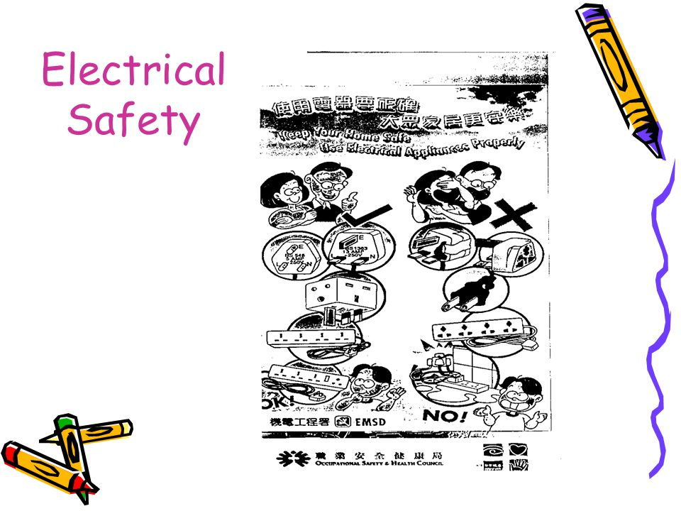 Electrical Safety Hazards:- Electric Shock (ventricular fibrillation) Burn Ignition of combustible material/Fire Explosion