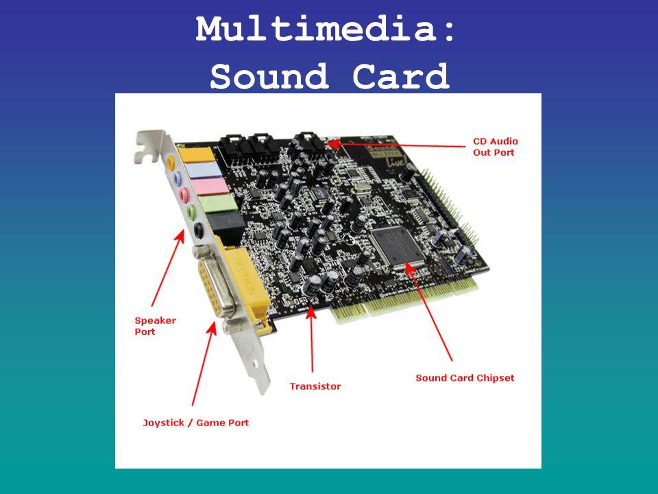 Multimedia: Sound Card