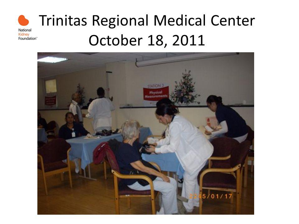 Trinitas Regional Medical Center October 18, 2011