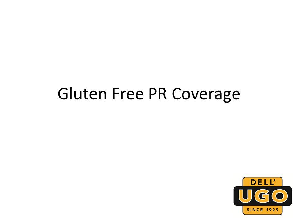Gluten Free PR Coverage