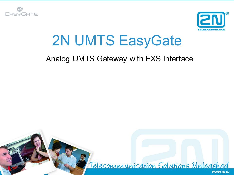 2N UMTS EasyGate Analog UMTS Gateway with FXS Interface