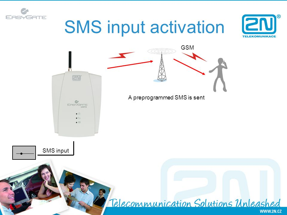 SMSGw Basic Easy way how to send and receive SMS messages from your PC SMS server enables all LAN users to send and receive SMS messages.