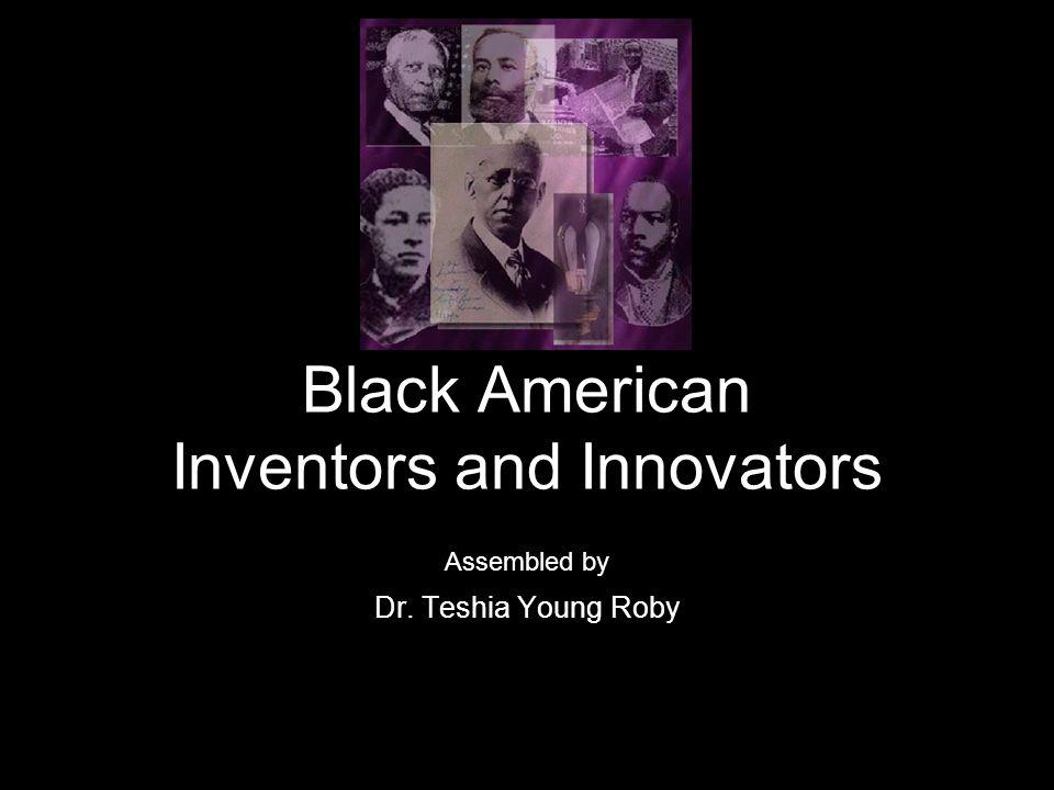 About this Presentation What we know about early African American innovators comes mostly from the work of Henry Edward Baker, a young African-American graduate of Harvard Law School.