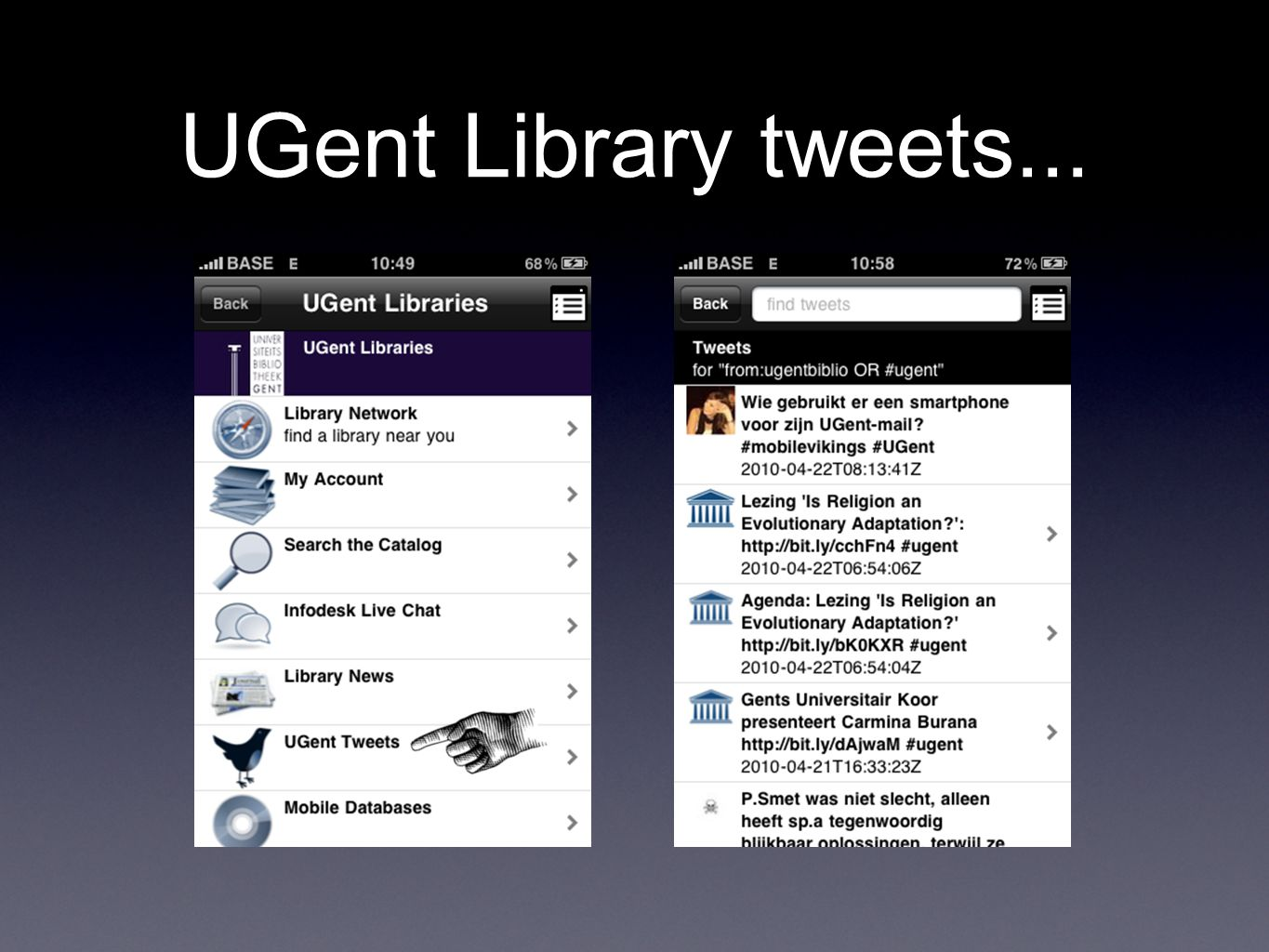 UGent Library tweets...
