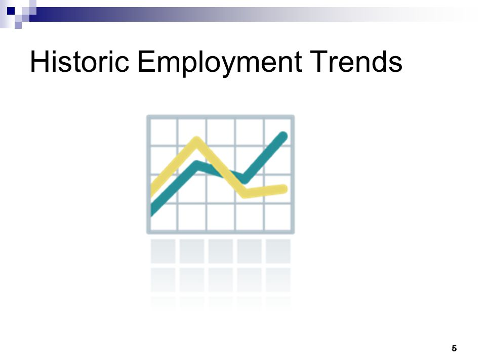 5 Historic Employment Trends