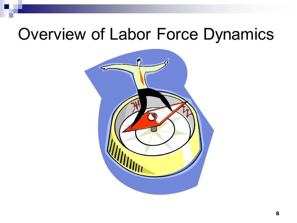 8 Overview of Labor Force Dynamics