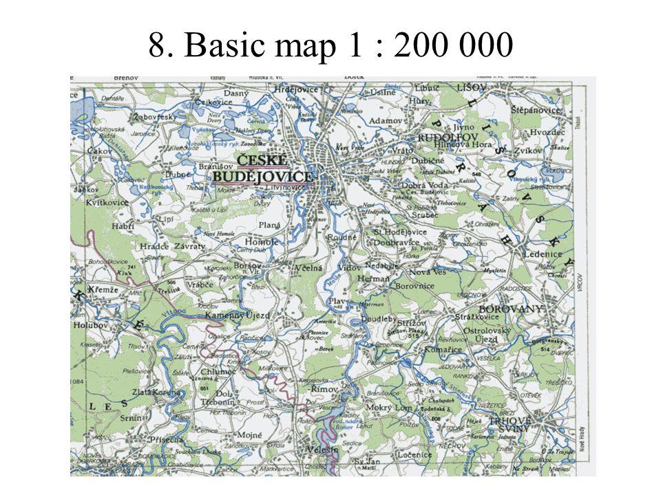 8. Basic map 1 : 200 000