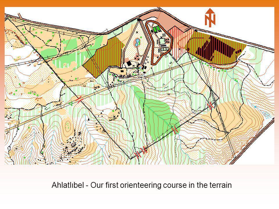 Ahlatlıbel - Our first orienteering course in the terrain