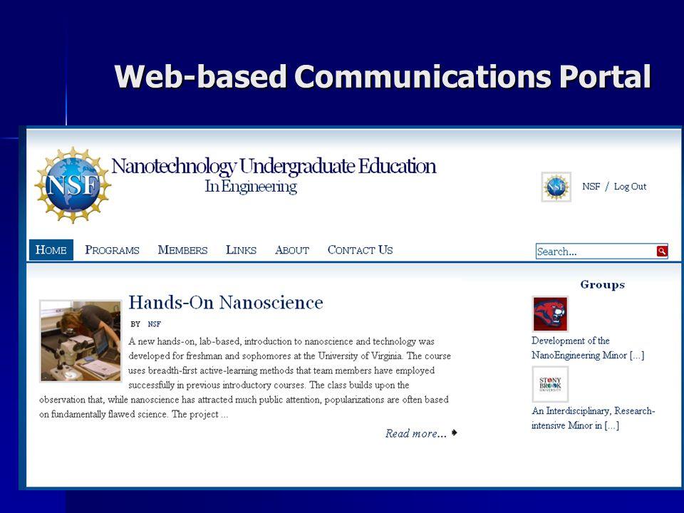 Web-based Communications Portal Web-based Communications Portal