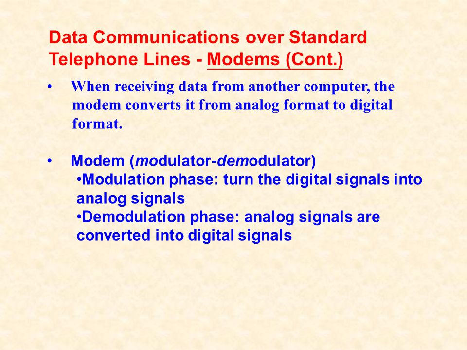 Asynchronous transfer mode (ATM) digital service is offered as a high-bandwidth, efficient means for transferring multimedia content, data, and voice over phone lines.