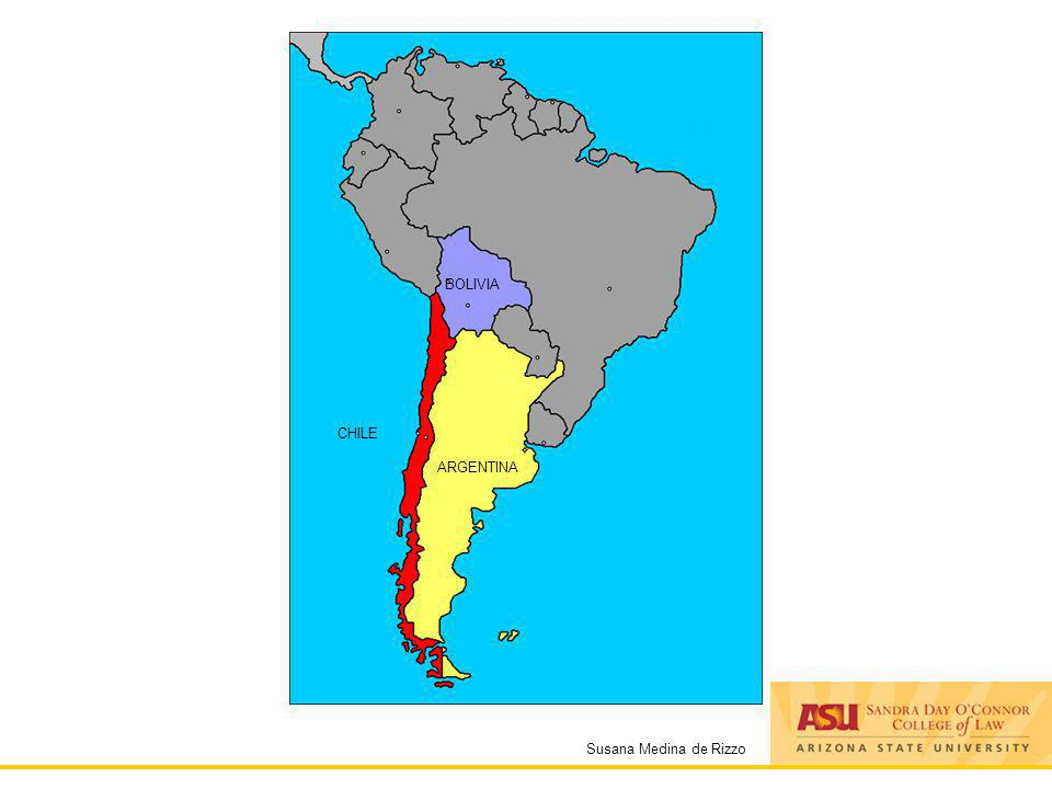 Susana Medina de Rizzo ARGENTINA CHILE BOLIVIA