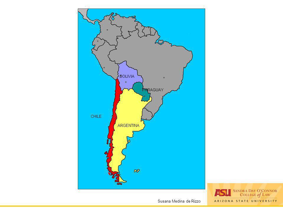 Susana Medina de Rizzo ARGENTINA CHILE BOLIVIA PARAGUAY
