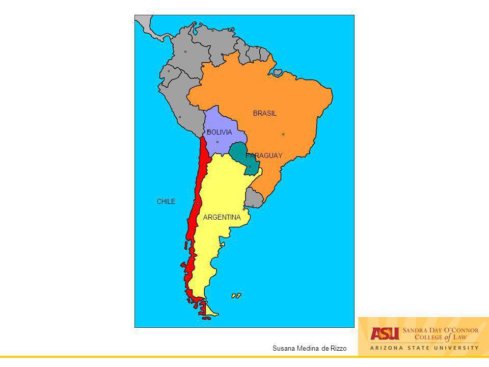 Susana Medina de Rizzo ARGENTINA CHILE BOLIVIA PARAGUAY BRASIL