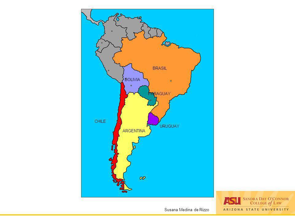 Susana Medina de Rizzo ARGENTINA CHILE BOLIVIA PARAGUAY BRASIL URUGUAY