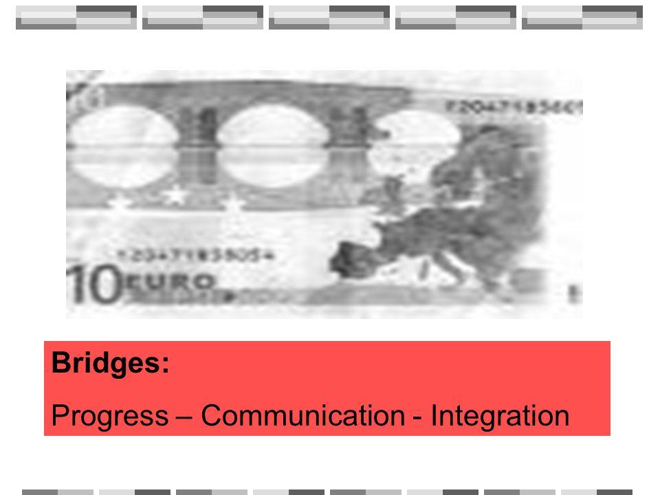 Bridges: Progress – Communication - Integration