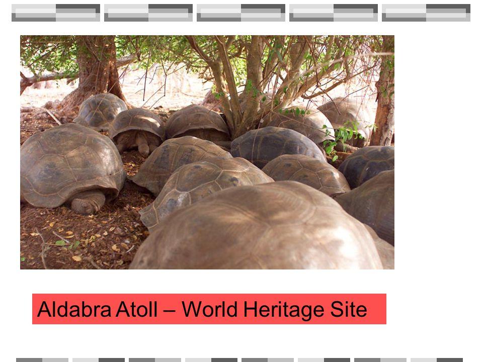 Aldabra Atoll – World Heritage Site