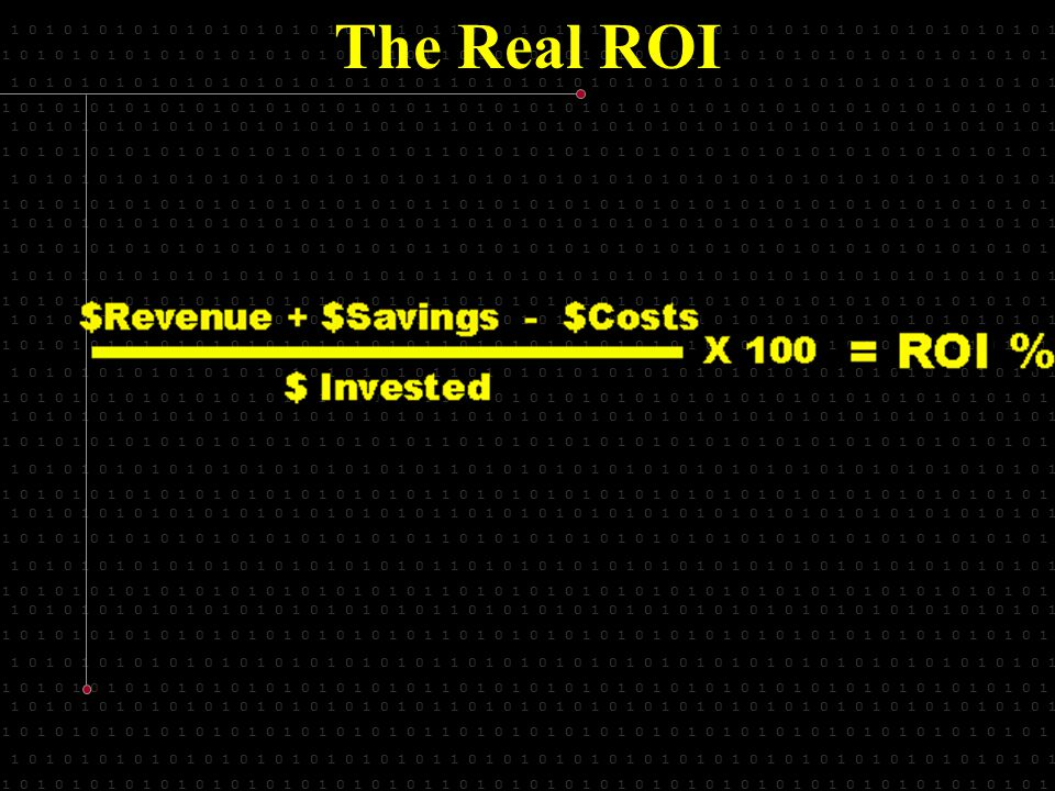 1 0 1 0 1 0 1 0 1 0 1 0 1 0 1 0 1 0 1 0 1 0 1 0 1 1 0 1 0 1 0 1 0 1 0 1 0 1 0 1 0 1 0 1 0 1 0 1 0 1 0 1 0 1 0 1 0 1 0 1 The Real ROI