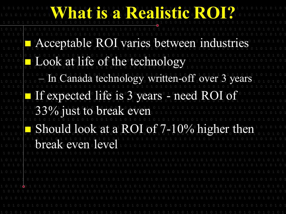1 0 1 0 1 0 1 0 1 0 1 0 1 0 1 0 1 0 1 0 1 0 1 0 1 1 0 1 0 1 0 1 0 1 0 1 0 1 0 1 0 1 0 1 0 1 0 1 0 1 0 1 0 1 0 1 0 1 0 1 What is a Realistic ROI.