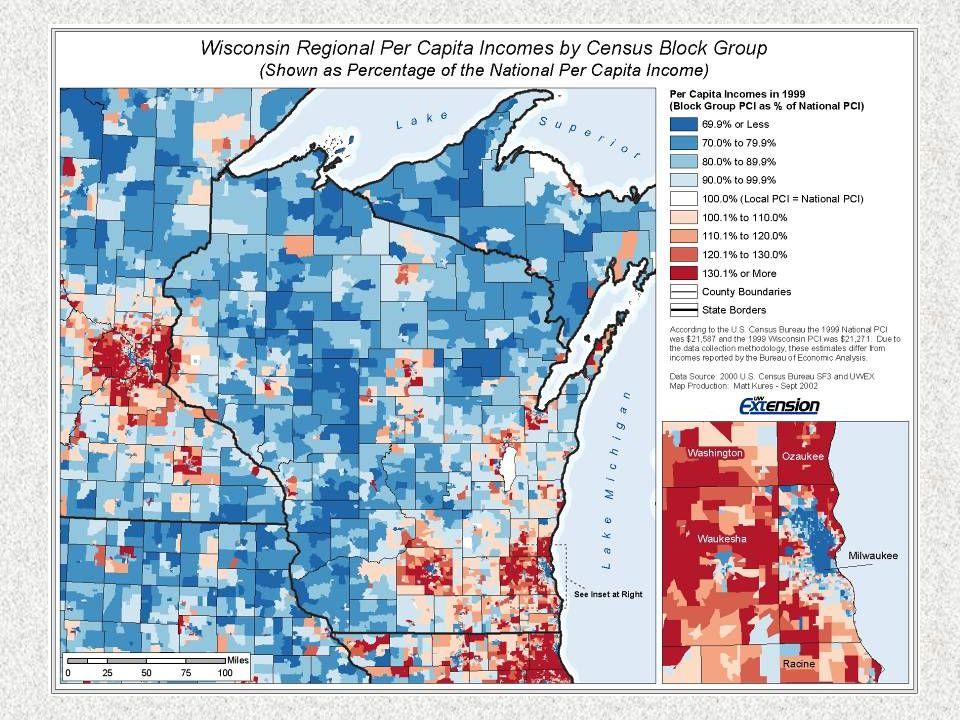 Personal Income Components Burnett County: 2005