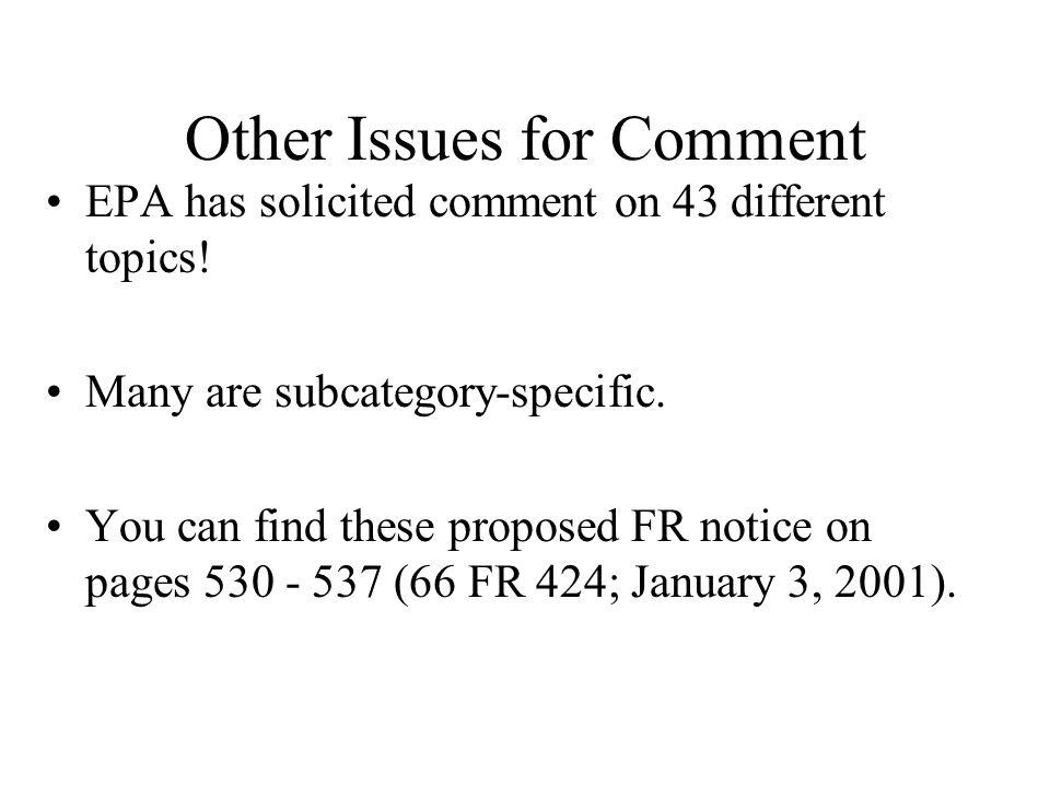 Did EPA propose the P2 Alternative in lieu of limits.