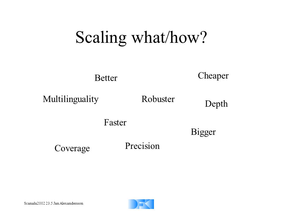 Scanalu2002 23.5 Jan Alexandersson Scaling what/how.