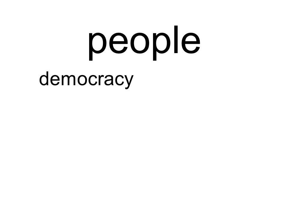 people democracy