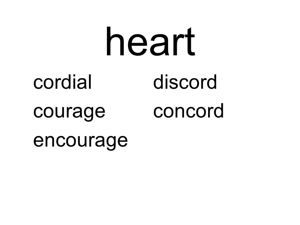 heart cordialdiscord courageconcord encourage