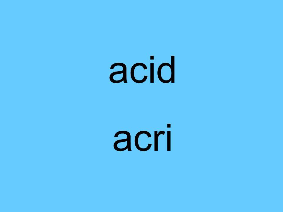 acid acri