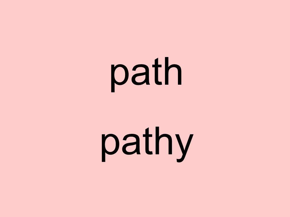 path pathy