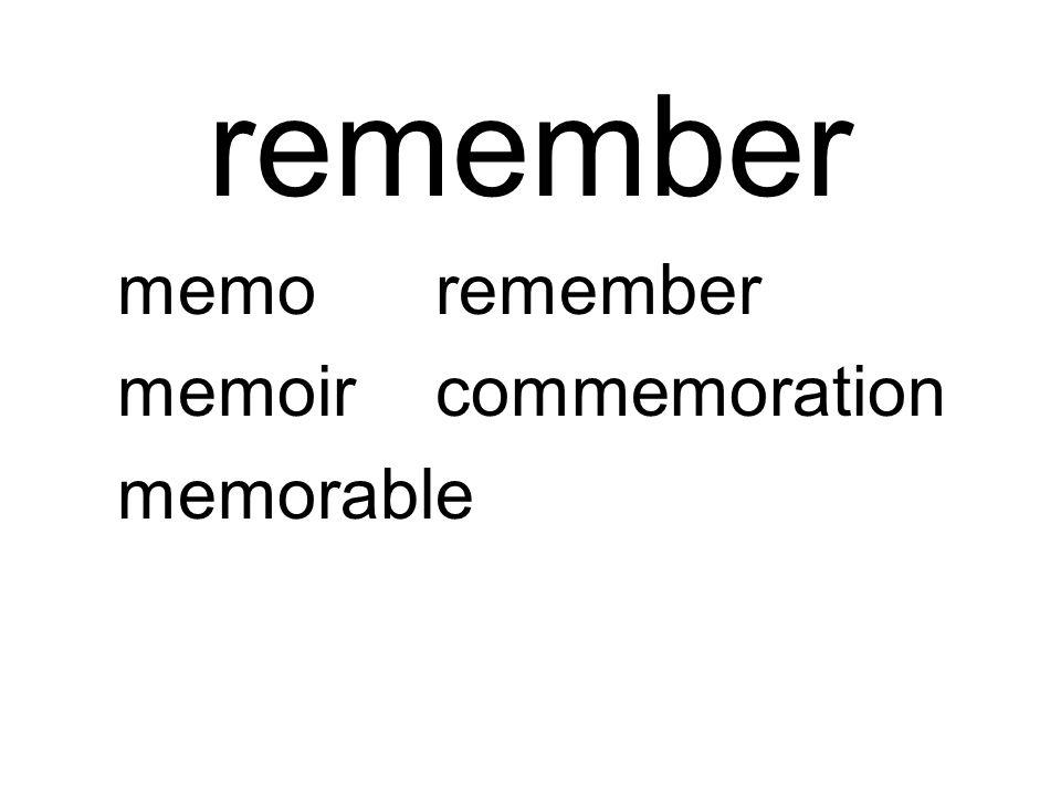 remember memoremember memoircommemoration memorable