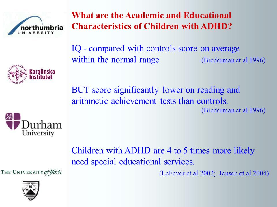 What are the Academic and Educational Characteristics of Children with ADHD.