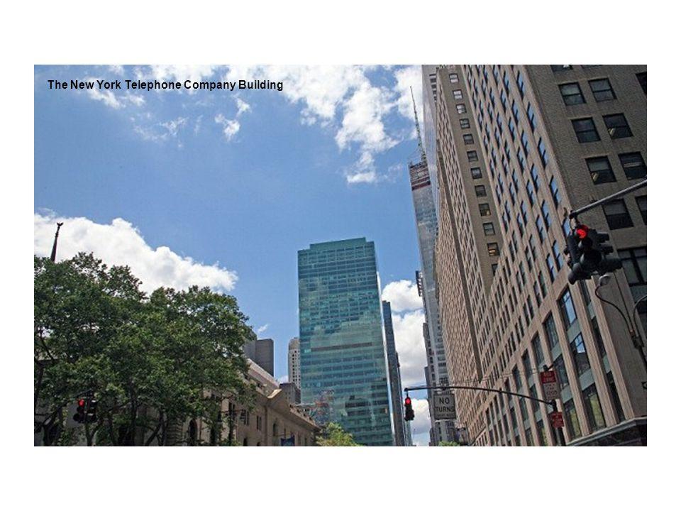 The New York Telephone Company Building