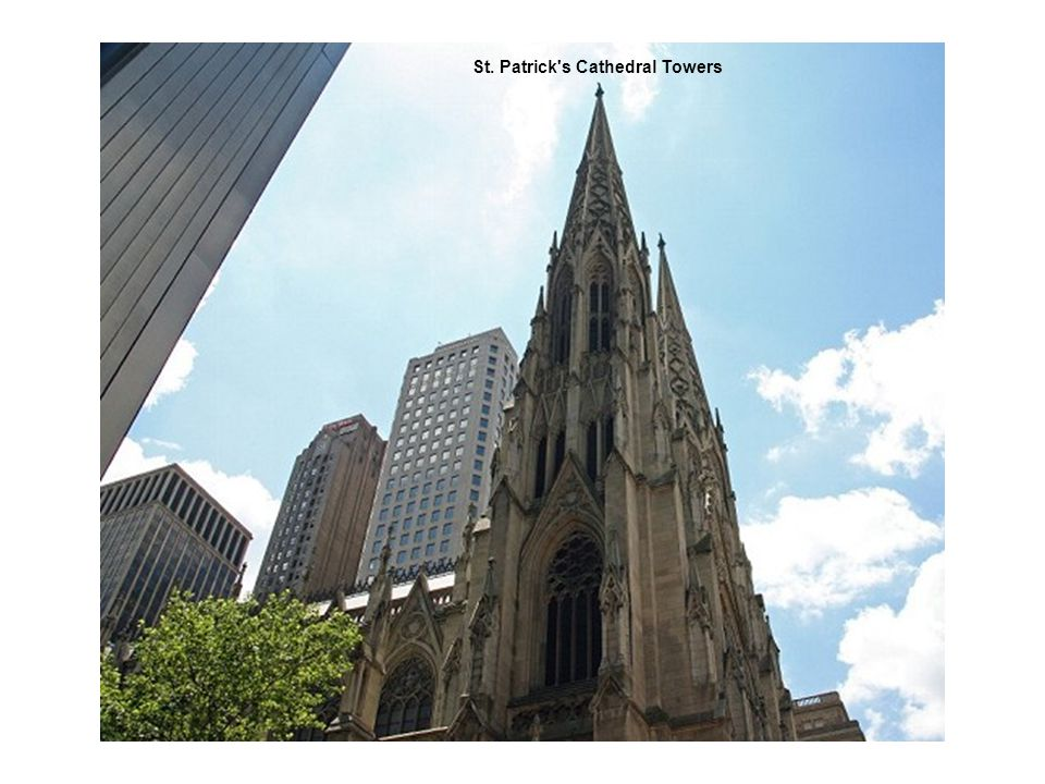 St. Patrick's Cathedral Towers