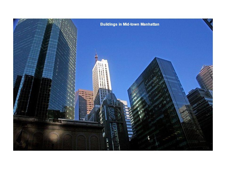 Buildings in Mid-town Manhattan