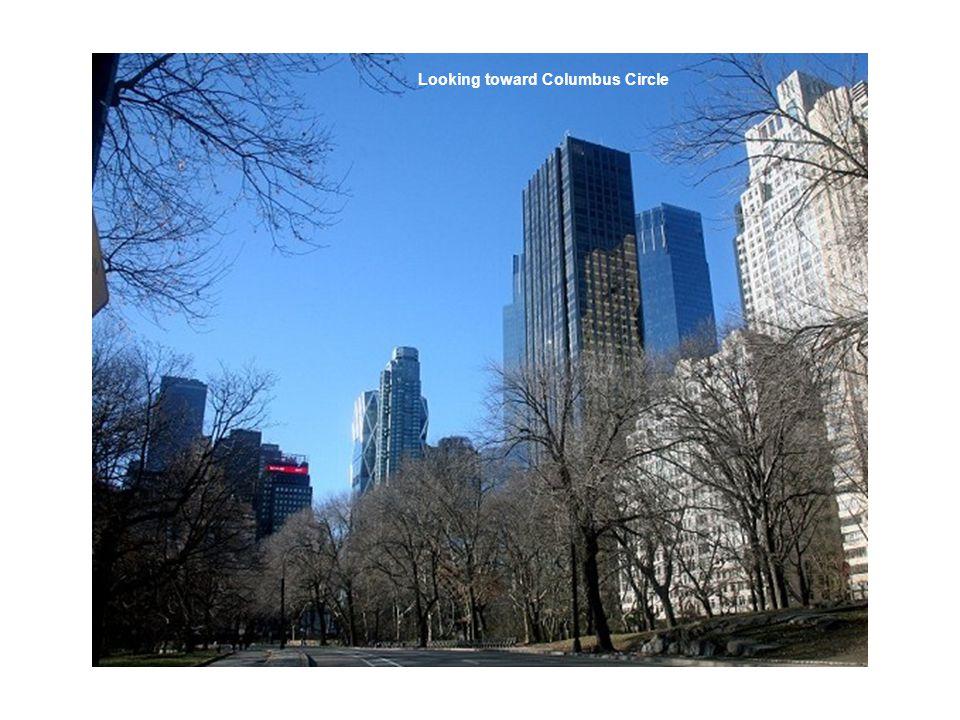 Looking toward Columbus Circle