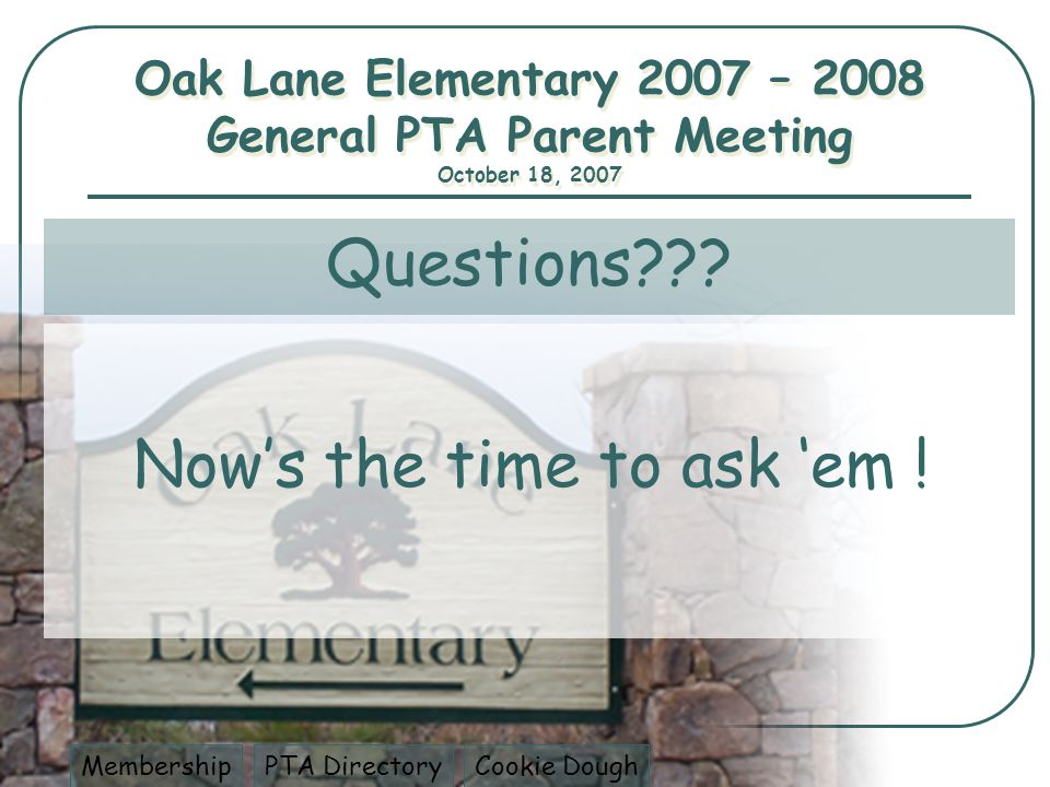 Questions??. Nows the time to ask em .