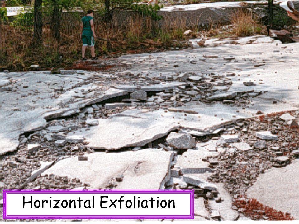Horizontal Exfoliation