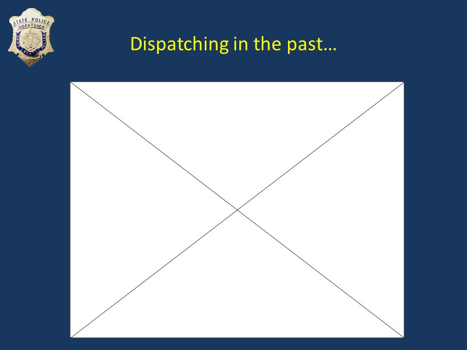 Dispatching in the past…