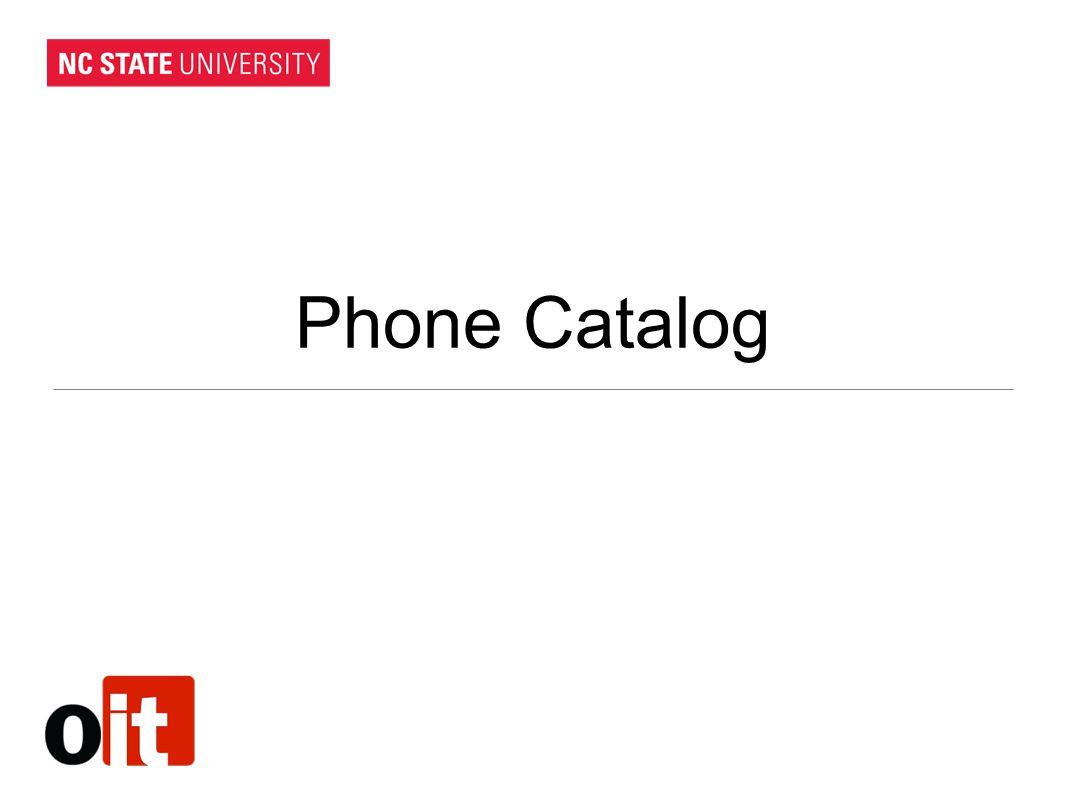 Phone Catalog