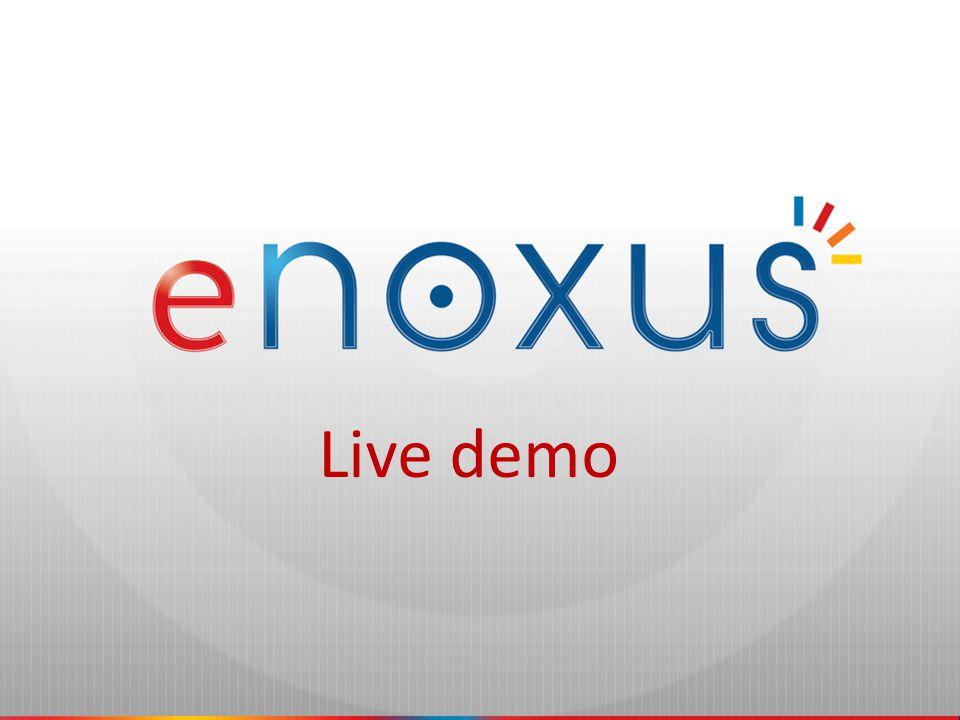 the power of swift communication eNOXUS - screenshots Choose your country/language