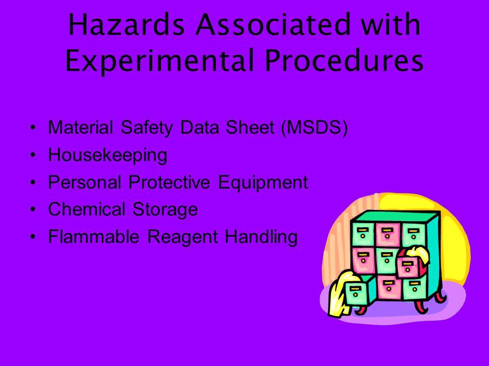 Handling of Waste Materials Proper Disposal: Chemicals Sharps Bedding Gloves