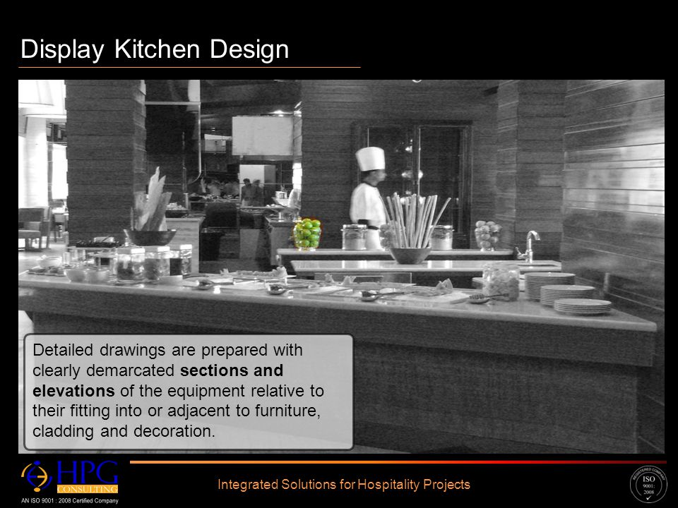 Click to edit Master text styles – Second level Third level – Fourth level » Fifth level Display Kitchen Design Integrated Solutions for Hospitality P