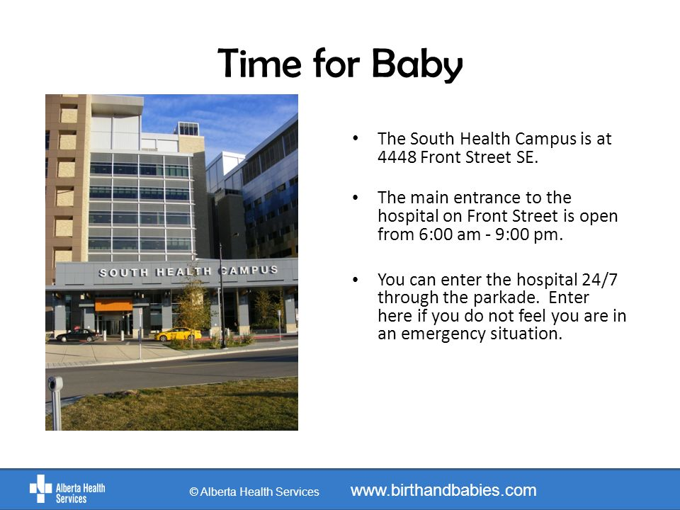 After A Cesarean Birth © Alberta Health Services www.birthandbabies.com After baby is born you will be moved to a recovery area where you will be monitored and have the opportunity to have skin to skin time with your baby.
